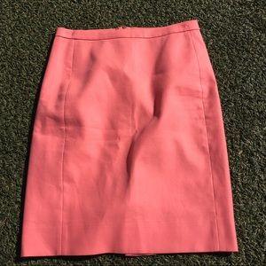 J. Crew precious pink skirt